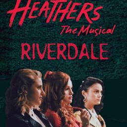 rikkisgirl freetoedit riverdale riverdaleseason3 heathers