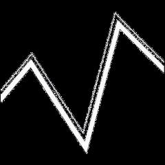 zigzag white iconhelp aesthetic interesting freetoedit