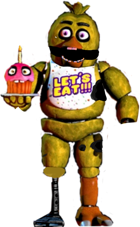 Chica Withered classic chica