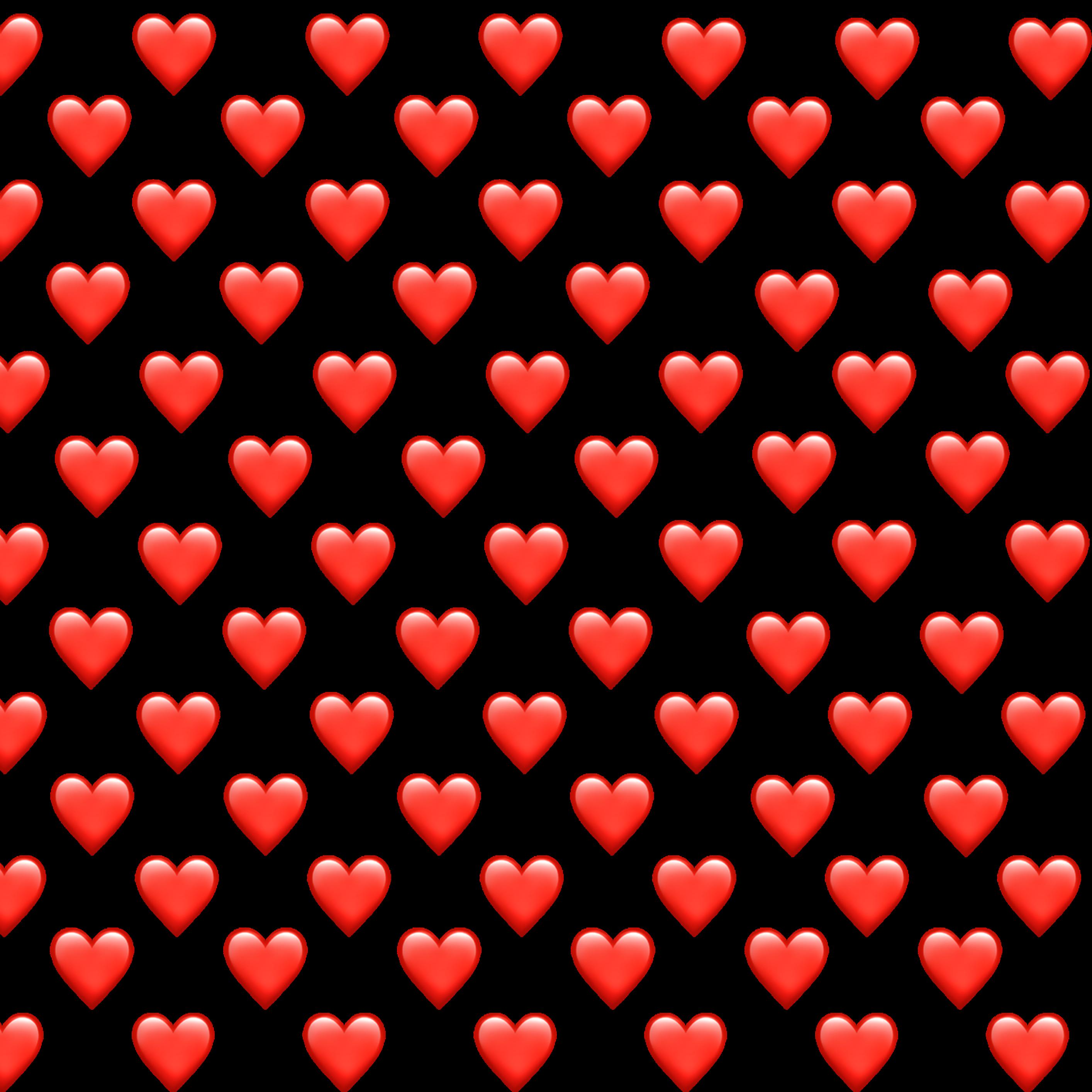 Картинки из сердечек смайликов скопировать