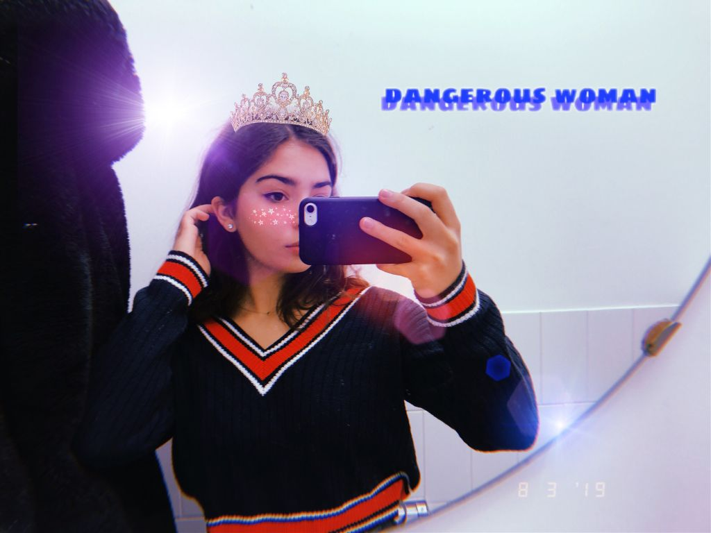 #freetoedit #dangerouswoman #crown #blush