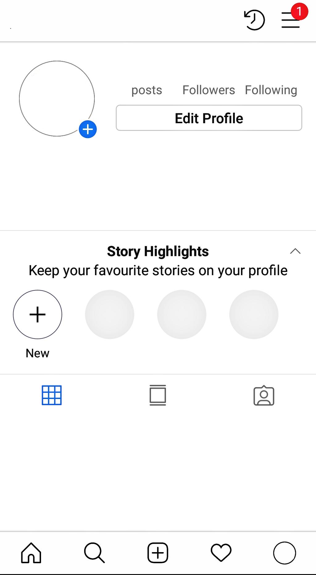 instagram profile try it aesthetic