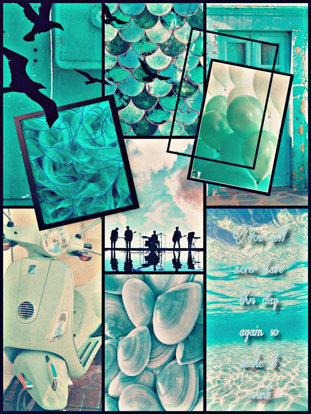 #aqua #asthetic #korea #day6 #krock #freetoedit #water #ocean #seashell #balloon #lace #door