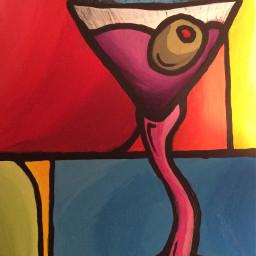 ferdohomage tomfedro acryliconcanvas abstract popart freetoedit
