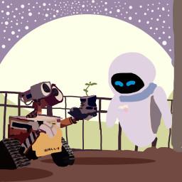 dcrobots robots wall pixar drawing