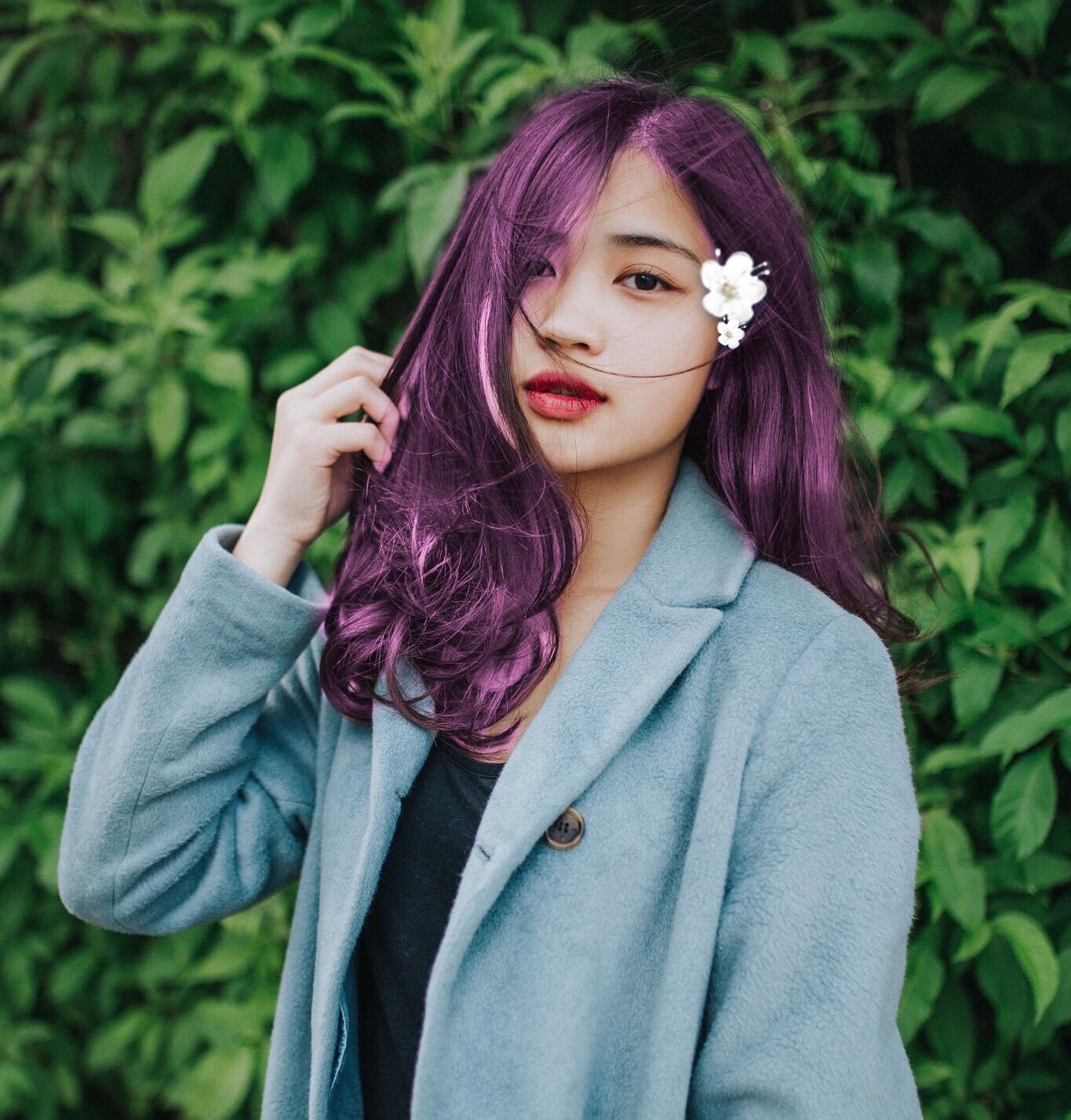 #beautify #beautifypicsart #purplehairdontcare #flower #floral #hellospring