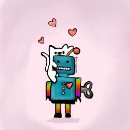 dcrobots robots lovecats