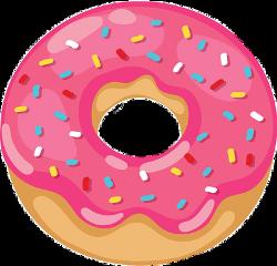 doughnut sprinkles pink freetoedit