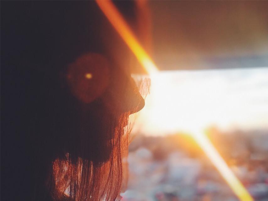 🌞 #pcspringishere #springishere #photography #sun #light #interesting #sunset #sky #portrait #portraitphotography #girl #goldenhour #gold #remixit #freetoedit