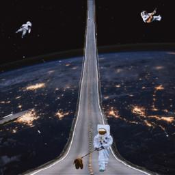freetoedit road carretera astronaut space