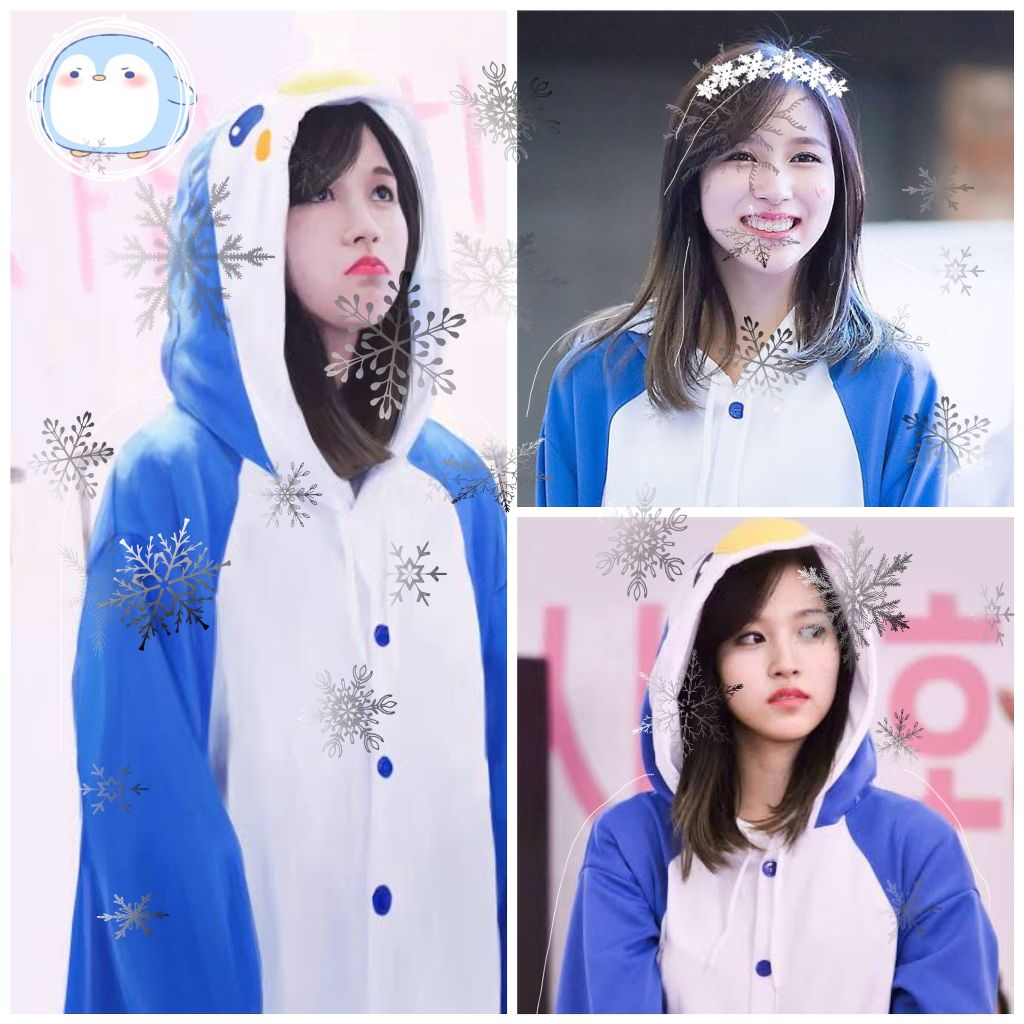 Happy birthday to our little cute penguin Mina💙💙💙