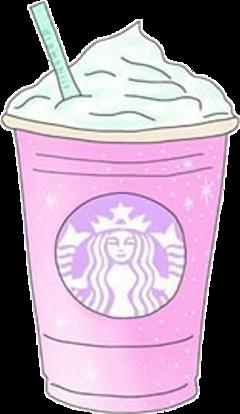starbucks pink cute plastic savetheturtles freetoedit