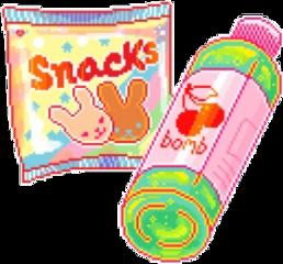fridayfun fridaynight snacks pixel freetoedit