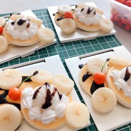 freetoedit mirror banana pancake