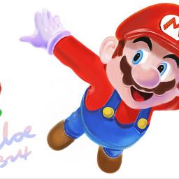 mario cartoon game games supermario