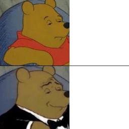 freetoedit meme template winnie