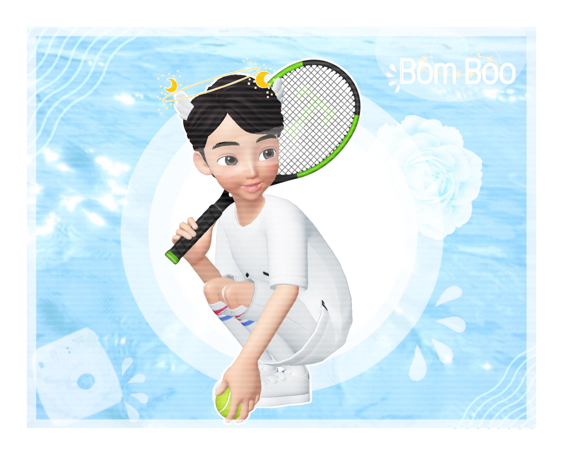 Ocean Zepeto Tennis Aesthetic Feature Image By Marsho