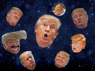 trump donaldduck ugly freetoedit