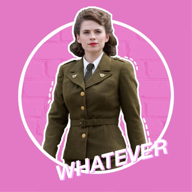#peggycarter #agentcarter #captainamerica #thefirstavenger #marvel #mcu #hayleyatwell #edit #pink