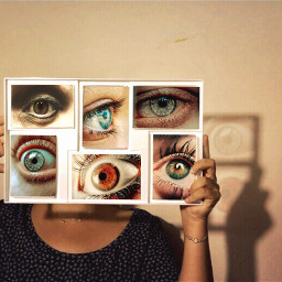 madewithpicsart eyes
