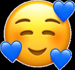 blue blueemoji freetoedit