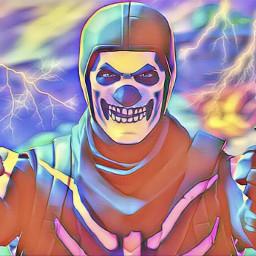 skull trooper skulltrooper fortnite rare freetoedit