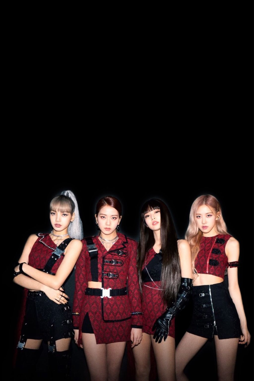 Blackpink Wallpaper Jisoo Jennie Lisa Rose Swag