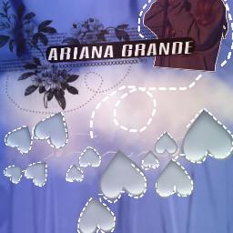 ariana arianagrande heart hearts cloud freetoedit