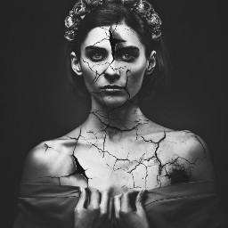 freetoedit woman broke broken brokenheart