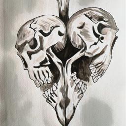 skull skulls skullart skullhead skullandbones