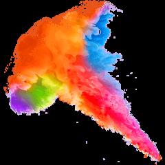 spray multicolor frame freetoedit