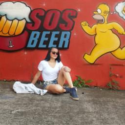 sorocaba simpsons beer urbanart brasil2019 freetoedit pcstreetart