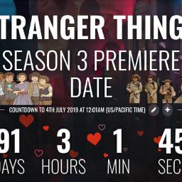 freetoedit countdown strangerthings3