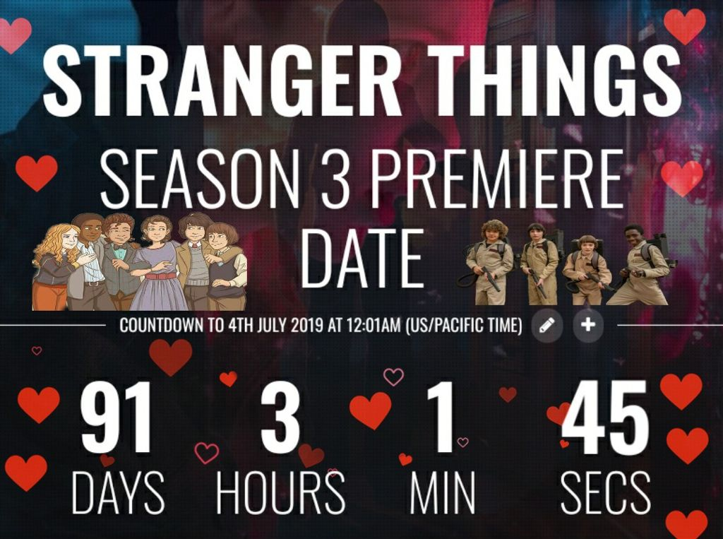 #freetoedit #countdown #strangerthings3 #countdown