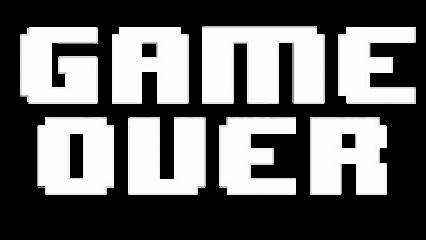 freetoedit sticker undertale gameover white