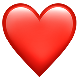 #heart #love #iphone #emoji