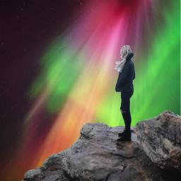 freetoedit auroraborealis nature awsome