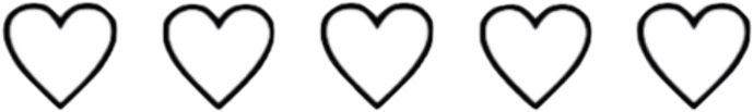 ♥️ #hearts #blackandwhite #aesthetic #freetoedit