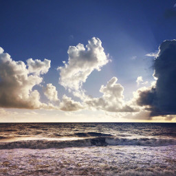 nature endoftheday beachscenery wavescrashing seafoam freetoedit