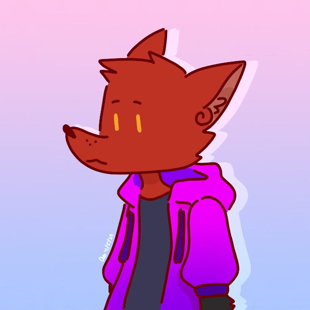 Fanart for my favorite lesbian pyrocynical  🌻#andysart #andysfanart #fanart #pyrocynical #fox #digitalart