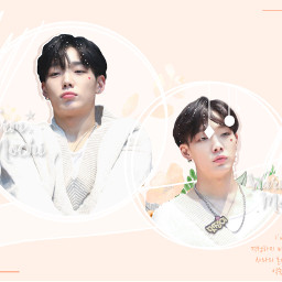 kpop kpopedit korean koreanedit koreanpop ikon ikonimok ikonbobby bobby orange