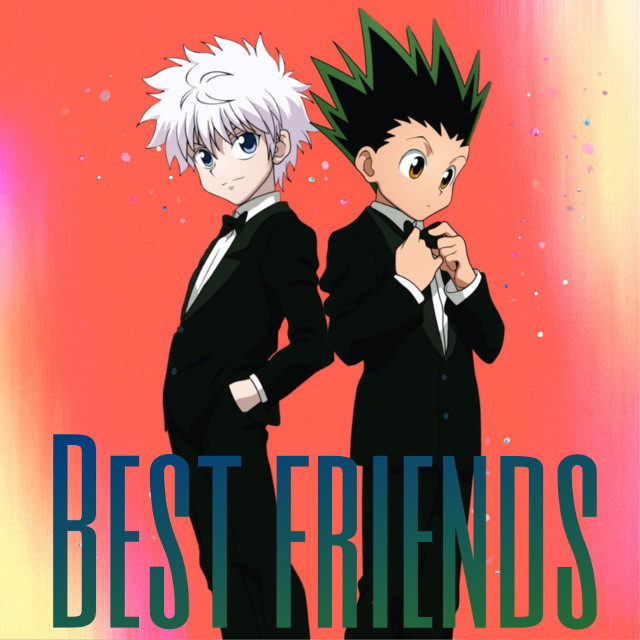 #hxh #friends #killua #gon
