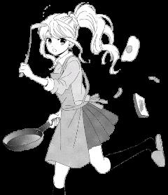 freetoedit anime animegirl cooking cook