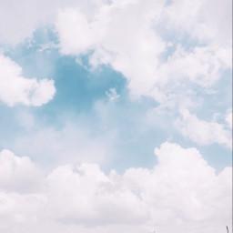 freetoedit cloud sky pretty blue