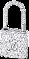 louisvuitton lv lock diamomds sparkly freetoedit