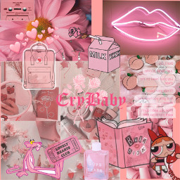 freetoedit aesthetic pink red love