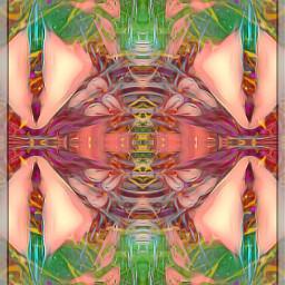 mirrormania mirrored photoblending colorful art