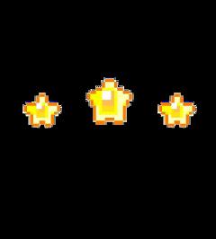 stars yellow pixel cute cglre freetoedit