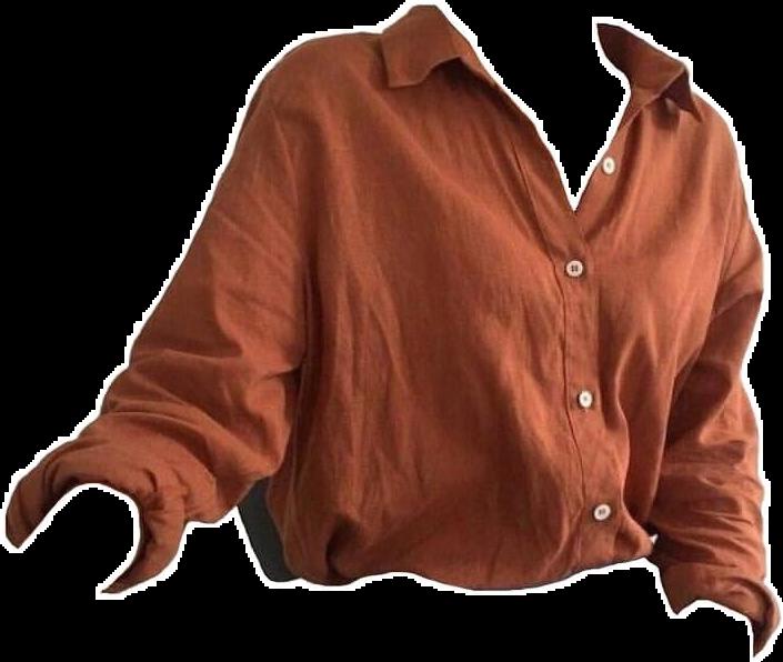 #shirt #women #orange #top #clothing #clothes #png #pngs #filler