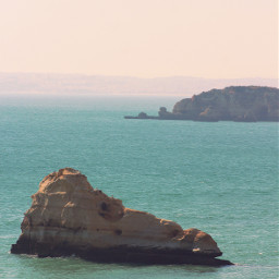 nature cliffview thesea rockformations calmwaters freetoedit